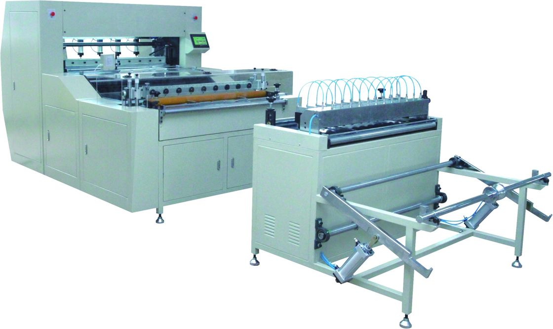 0 - 140 Pleats / Min Air Filter Pleating Machine With Pre - Slitting Conveyor