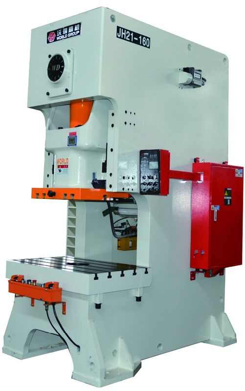 JH21 Power Industrial Metal Stamping Machine , 2450KG Metal Punch Press Machine