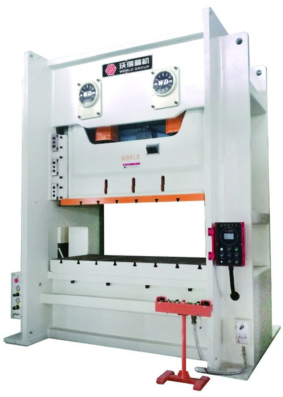 H Frame Hydraulic Punch Press Machine , High Intensity Metal Stamping Equipment