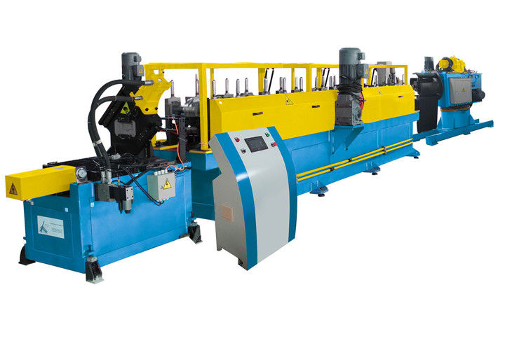 Door Frame / Shutter Cold Roll Forming Machine Fast With Conveying Platform