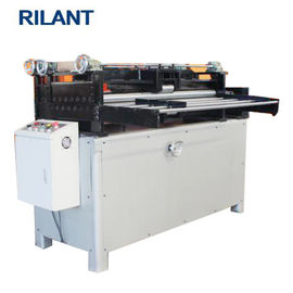 Galvanized Metal Slitter Machine , Metal Cutting Machine Metal Straightening Machine