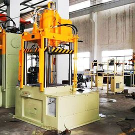 One Station Hydraulic Stretching Machine For Filter Housings Punching Line