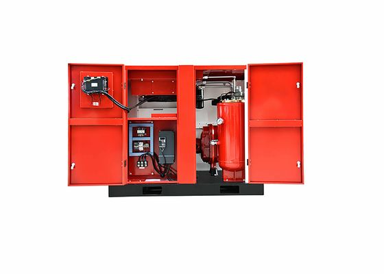 Direct Driven 15KW 20HP Screw Air Compressor With Rotary Filter