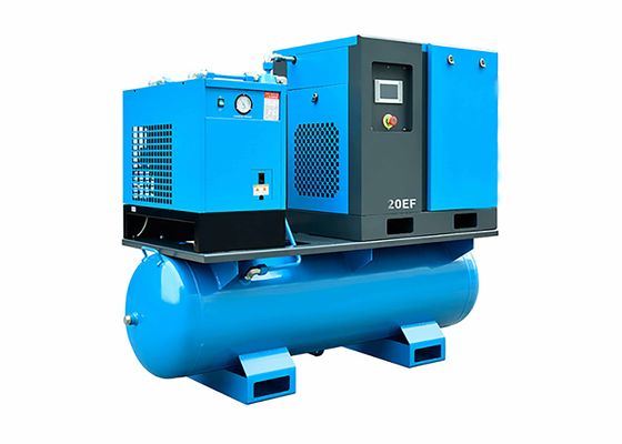 15KW 20HP Energy Efficient Air Compressors 2.3m3/Min For Pneumatic Machine